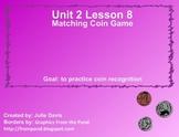 Everyday Math Kindergarten 2.8 Matching Coin Game