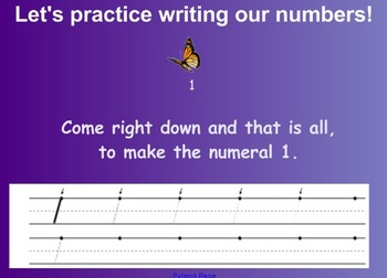 Everyday Math Kindergarten 3.1 Number Books SmartBoard Activity