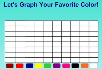 Everyday Math Kindergarten 3.14 Favorite Colors Graph