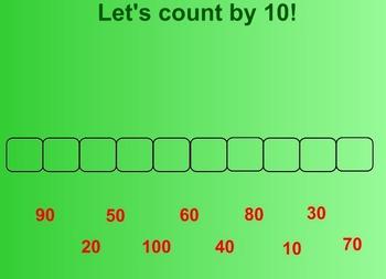 Everyday Math Kindergarten 3.15 Count by 10s