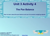 Everyday Math Kindergarten 3.4 The Pan Balance SmartBoard Activity