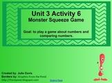 Everyday Math Kindergarten 3.6 Monster Squeeze Game