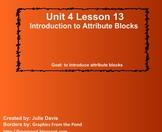 Everyday Math Kindergarten 4.13 Introduction to Attribute Blocks
