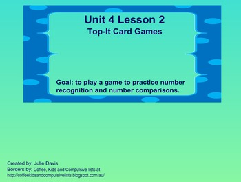 math worksheet : everyday math kindergarten 4 2 top it card games  tpt : Everyday Math Kindergarten Games