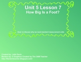 Everyday Math Kindergarten 5.7 How Big is a Foot