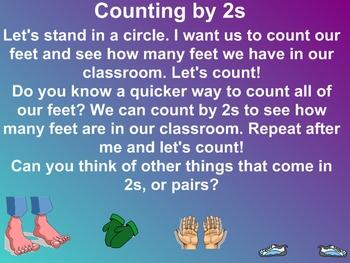 Everyday Math Kindergarten 6.10 Count by 2s