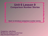 Everyday Math Kindergarten 6.9 Comparison Number Stories