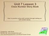 Everyday Math Kindergarten 7.3 Class Number Story Book