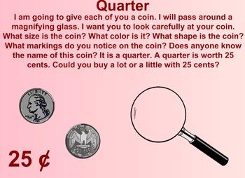 Everyday Math Kindergarten 7.5 Introduction of the Quarter