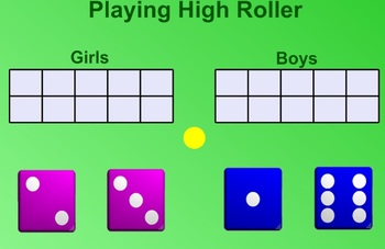 Everyday Math Kindergarten 8.4 High Roller Game