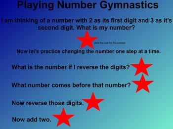 Everyday Math Kindergarten 8.6 Number Gymnastics