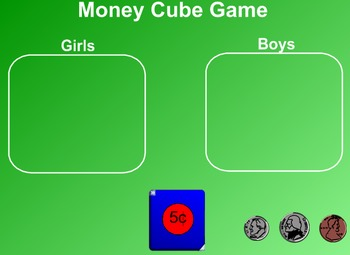 Everyday Math Kindergarten 8.8 One Dollar Game