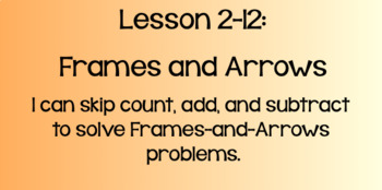 Everyday Math Lesson 2-12: Frames and Arrows
