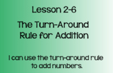Everyday Math Lesson 2-6: The Turn Around Rule
