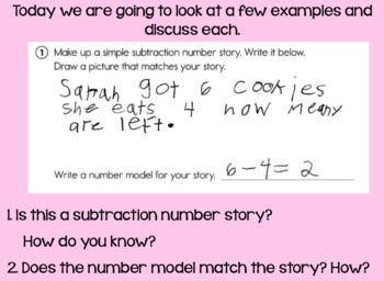 Everyday Math Lesson 2-7 DAY 2: Subtraction and Turn-Around Rule