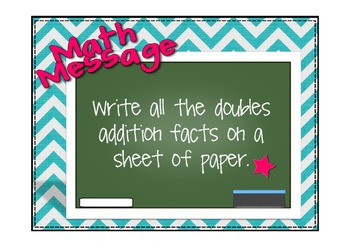 Everyday Math Lesson 2.5 Addition Strategies That Use Doubles Facts