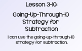Everyday Math Lesson 3-10: Going-Up-Through-10 Strategy fo