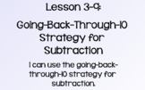 Everyday Math Lesson 3-9: Going-Back-Through-10 Strategy f
