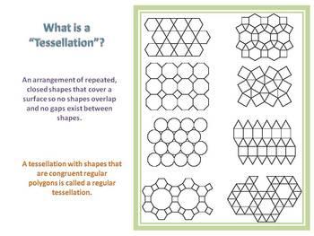 Everyday Math Grade 5 Lesson 3.8 - Regular Tessellations