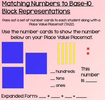 Everyday Math Lesson 4-4: Numeration and Place Value