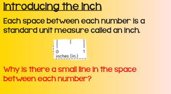 Everyday Math Lesson 4-9: The Inch