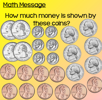 Everyday Math Lesson 5-2: Using Coins to Buy Things