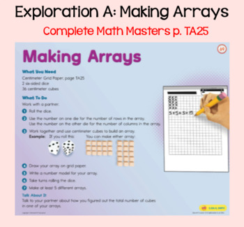 Everyday Math Lesson 5-5: Exploring Arrays, Time, and Shape