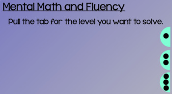 Everyday Math Lesson 5-9: Parts-and-Total Number Stories
