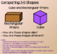 Everyday Math Lesson 8-5: Attributes of 3-Dimensional Shapes