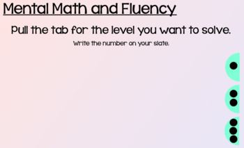 Everyday Math Lesson 9-5: Reviewing Place Value