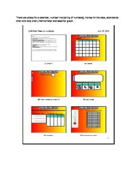Everyday Math Meeting- First Grade