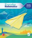 Grade 5 - Everyday Math REVIEWS or PRE-ASSESSMENTS by UNIT