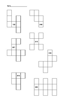Everyday Math Number Grid Puzzles