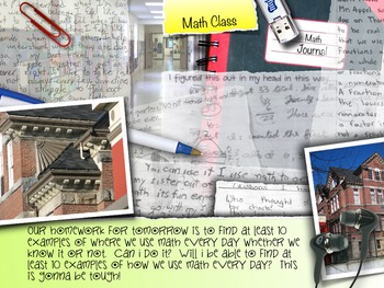 Everyday Math Picture Book POWERPOINT