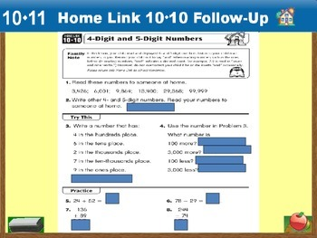 Everyday Math Power Point Lesson Unit: 10 Lesson: 11  Second Grade