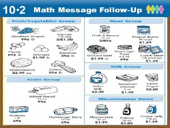 Everyday Math Power Point Lesson Unit: 10 Lesson: 2 Second Grade