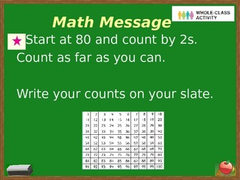 Everyday Math Power Point Lesson Unit: 7 Lesson:1 Second Grade
