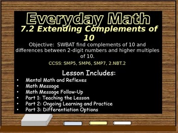 Everyday Math Power Point Lesson Unit: 7 Lesson:2 Second Grade