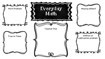 Everyday Math Practice