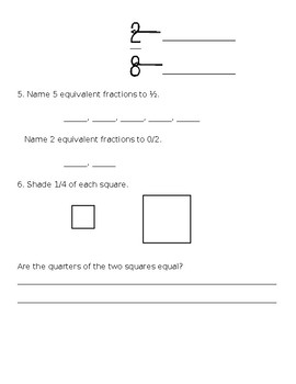 Everyday Math Quiz (Unit 1 and 2)