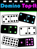 Everyday Math Recreated Game - Domino Top-It