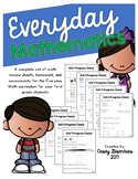 Everyday Math Review, Homework, and Assessment Bundle