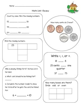 Everyday Math Review Unit 1
