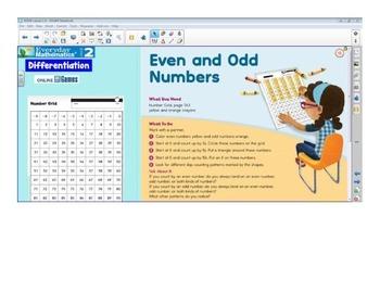 Everyday Math 4 SMARTBoard Lessons EDM4 Unit 1