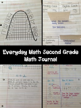 Everyday Math Second Grade Interactive Journal - Whole Year