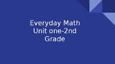 Everyday Math Second Grade Unit 1 Powerpoint