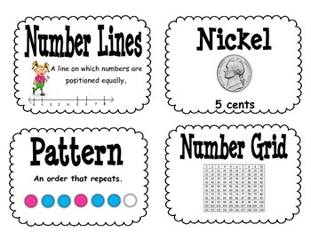 Everyday Math Second Grade Unit 1 Resource Pack
