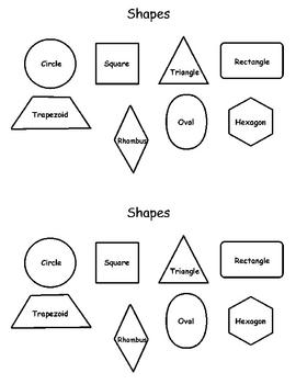 Everyday Math Shapes
