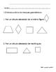 Everyday Math-Unit 1 Kindergarten Exit Slips in Spanish
