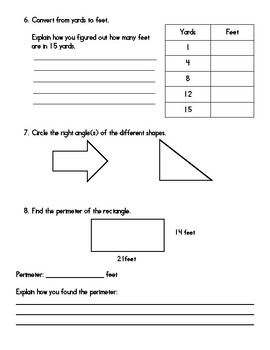 Everyday Math Unit 1 Review Guide - 4th Grade